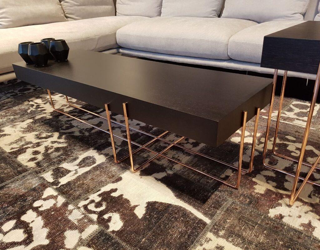 שולחן רגלי נחושת