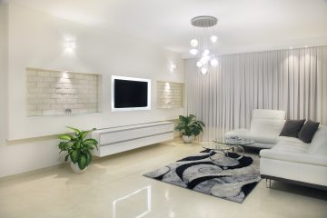 עיצוב חלל הסלון
